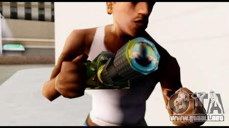 Brasileiro Camera para GTA San Andreas tercera pantalla