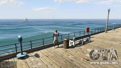 GTA 5 Fishing Mod 0.2.7 BETA cuarto captura de pantalla