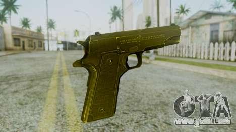 M1911 Pistol para GTA San Andreas segunda pantalla