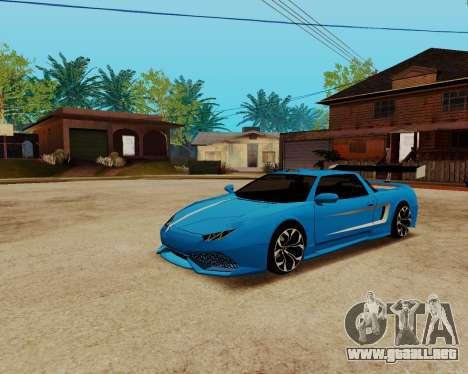 Infernus Lamborghini para la visión correcta GTA San Andreas