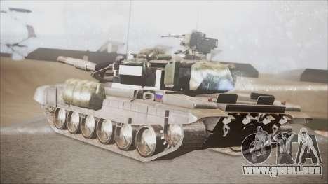T-90A BF4 para GTA San Andreas left