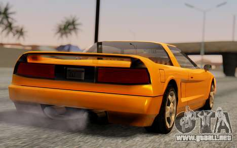Infernus Hamann Edition Backup Standart para GTA San Andreas left