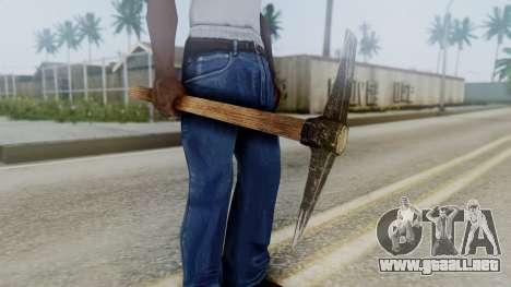 Red Dead Redemption Net para GTA San Andreas segunda pantalla