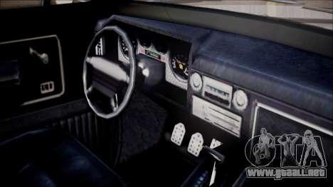 GTA 5 Vapid Slamvan Pickup para la visión correcta GTA San Andreas