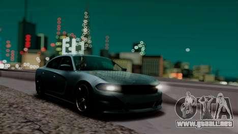 R.N.P ENB v0.248 para GTA San Andreas sucesivamente de pantalla