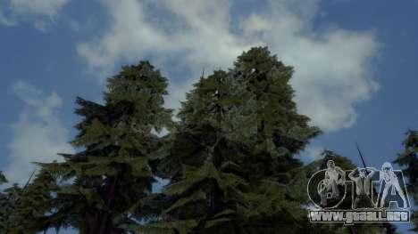 Natural y Realista ENB para GTA San Andreas sucesivamente de pantalla