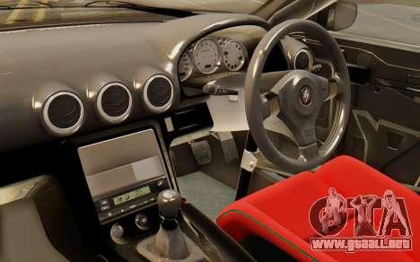 Nissan Silvia S15 Stance para la visión correcta GTA San Andreas