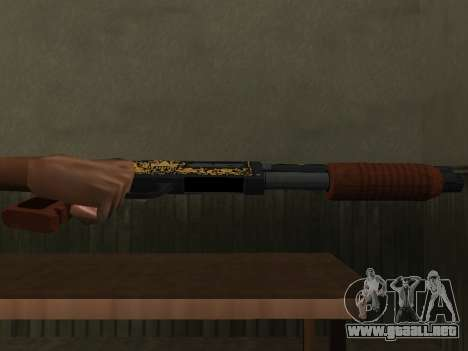 GTA 5 Sawed-Off Shotgun para GTA San Andreas segunda pantalla