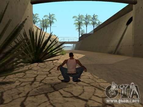 Ped.ifp Animación Gopnik para GTA San Andreas quinta pantalla