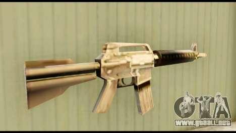 M4 Fixed para GTA San Andreas segunda pantalla