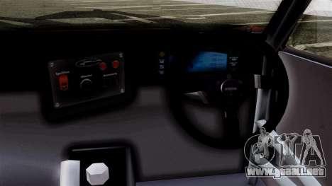 Toyota AE86C para GTA San Andreas vista posterior izquierda