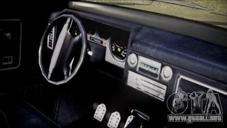 GTA 5 Vapid Slamvan IVF para la visión correcta GTA San Andreas