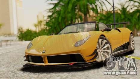 Pegassi Osyra Extra 2 para GTA San Andreas