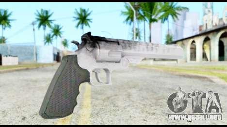 Desert Eagle from Resident Evil 6 para GTA San Andreas segunda pantalla