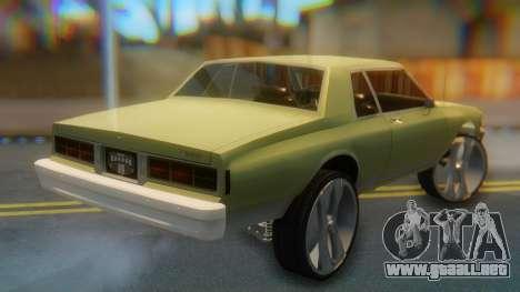 Chevrolet Caprice para GTA San Andreas left
