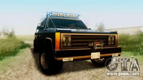 FBI Rancher Offroad para la visión correcta GTA San Andreas