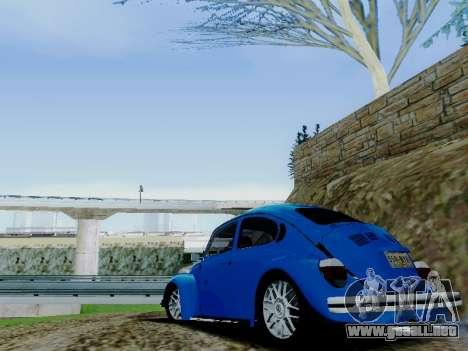 Volkswagen Beetle 1980 Stanced v1 para el motor de GTA San Andreas