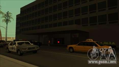 HP pastillas cerca de los hospitales en el estad para GTA San Andreas sexta pantalla