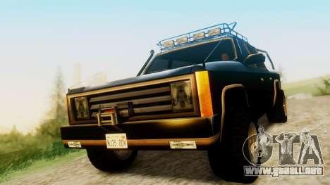 FBI Rancher Offroad para GTA San Andreas
