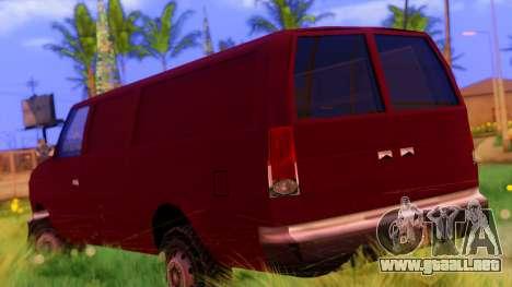 Ambush Van para GTA San Andreas left