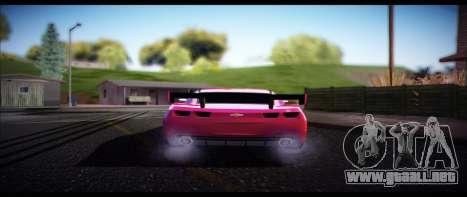 Temfan ENB para GTA San Andreas sucesivamente de pantalla