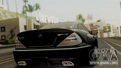Mercedes-Benz SL65 E-Tuning para GTA San Andreas left
