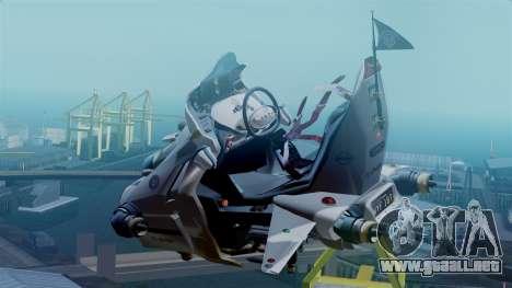 NRG Moto Jet Buzz Clean Model para GTA San Andreas left