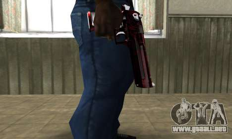 Redl Deagle para GTA San Andreas segunda pantalla
