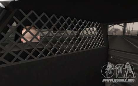 GTA 5 Stanier Police para la visión correcta GTA San Andreas