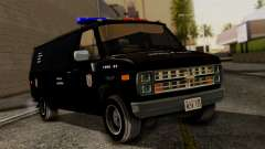 Chevrolet Chevy Van G20 Paraguay Police para GTA San Andreas