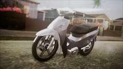 Honda Biz 125 para GTA San Andreas