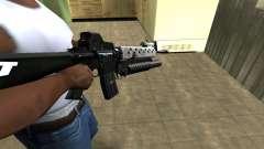 Modern Black M4 para GTA San Andreas