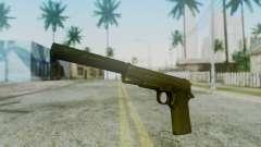 Silenced M1911 Pistol