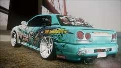 Nissan Skyline ER34 GT-Shop para GTA San Andreas