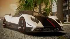 Pagani Zonda Cinque 2009 Autovista para GTA San Andreas