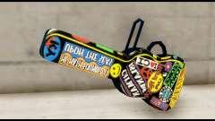 Guitar Case MG Colorful para GTA San Andreas