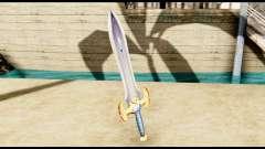 Espada del paladín para GTA San Andreas