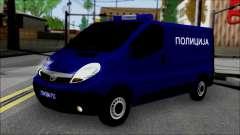 Opel Vivaro Policija para GTA San Andreas