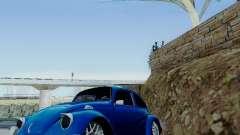Volkswagen Beetle 1980 Stanced v1 para GTA San Andreas