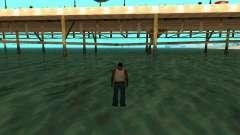Caminando sobre el agua para GTA San Andreas