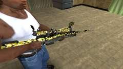 Cub Sniper Rifle para GTA San Andreas