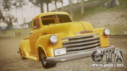 Chevrolet 3100 Truck 1951 para GTA San Andreas