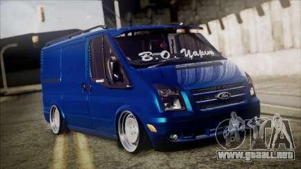 B. O. Ford Transit Construcción para GTA San Andreas