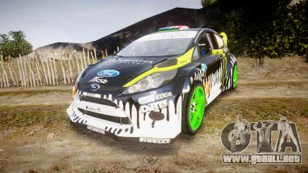 Ford Fiesta Gymkhana 3 Ken Block para GTA 4