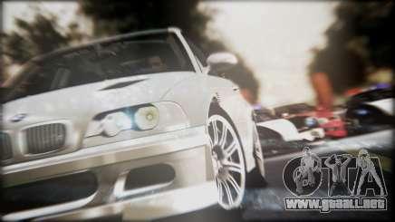 BMW M3 GTR Street Edition para GTA San Andreas