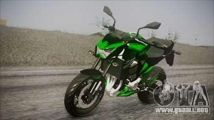 Kawasaki Z800 Monster Energy para GTA San Andreas