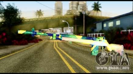 Brasileiro Rifle para GTA San Andreas