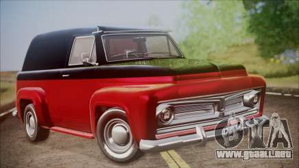 GTA 5 Vapid Slamvan IVF para GTA San Andreas