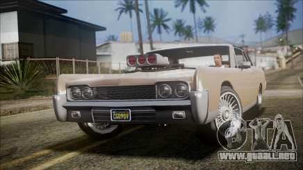 GTA 5 Vapid Chino IVF para GTA San Andreas