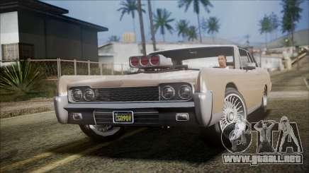 GTA 5 Vapid Chino IVF para GTA San Andreas